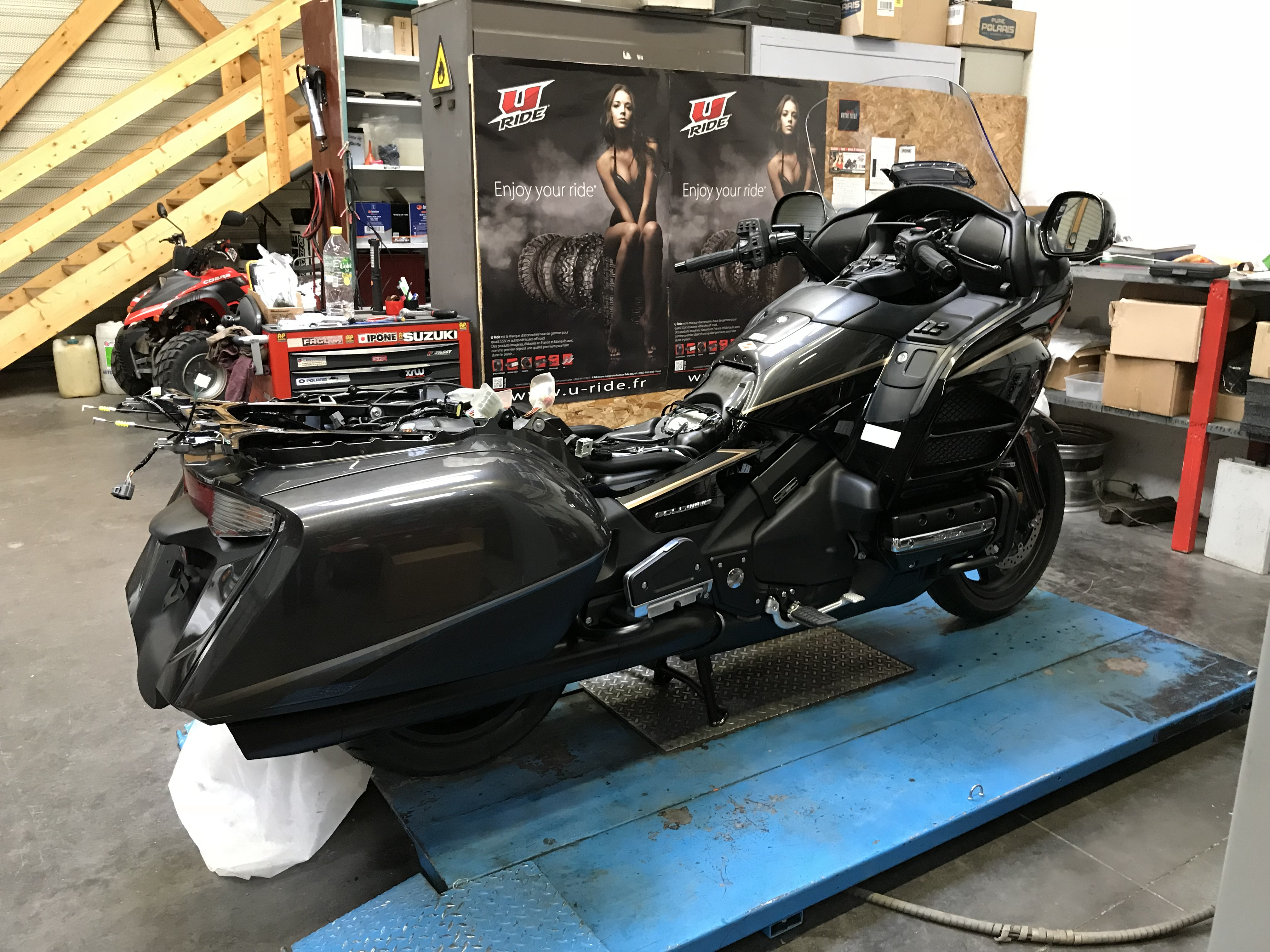 TRANSFORMATION D'UNE MOTO EN TRIKE